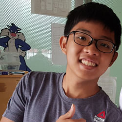 Kavan scored A1 in O level Physics with help from Gideon Goh www.singaporephysicstutor.com