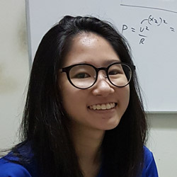 Singapore Best O-level Physics Tutor coaching Nicole to achieve A2